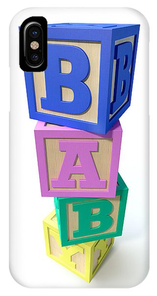 Stacked Baby Blocks IPhone Case
