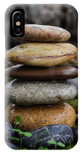 Stacked Stones A4 IPhone Case