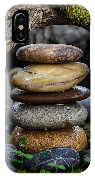 Stacked Stones A5 IPhone Case