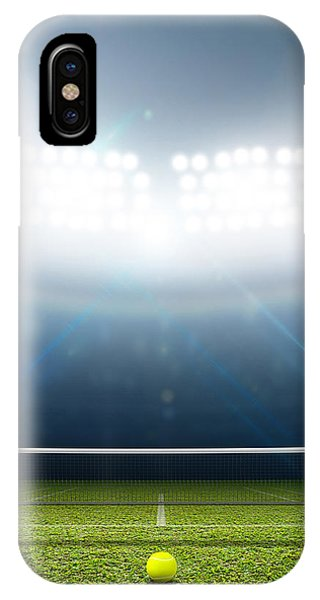 Playing iPhone Case - Stadium And Tennis Court by Allan Swart