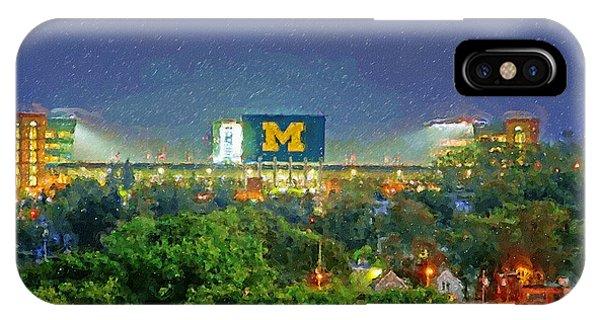 Stadium At Night IPhone Case