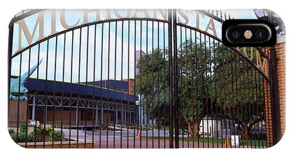 Stadium Of A University, Michigan IPhone Case