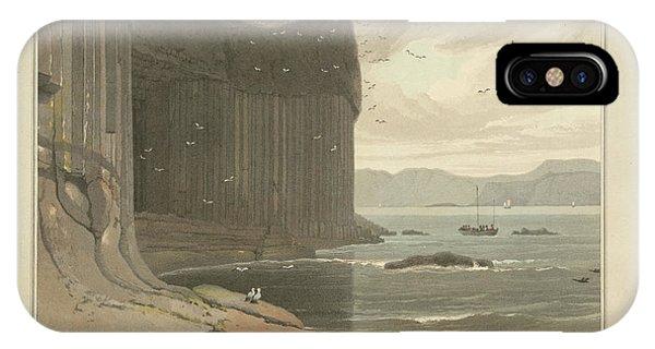Staffa Coastline Near Fingal's Cave IPhone Case