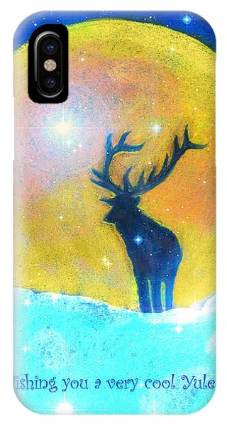 Stag Of Winter IPhone Case