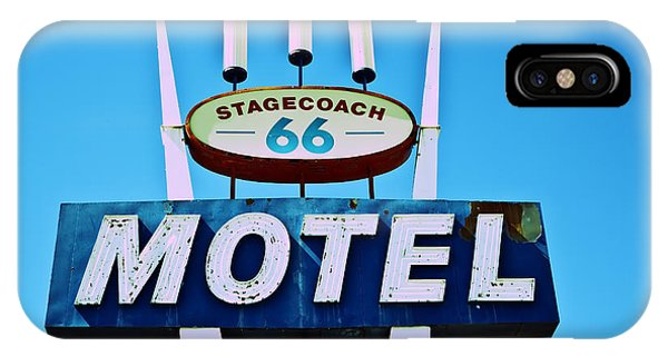 Stagecoach 66 Motel IPhone Case