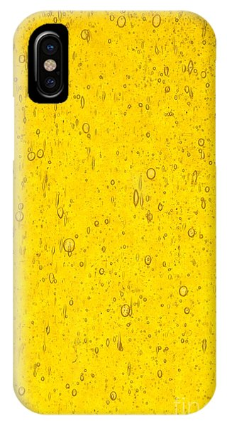 iPhone Case - Stained Glass Abstract Yellow by Jared Shomo