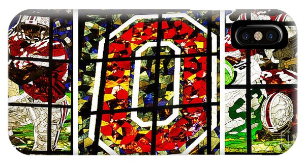 Stained Glass At The Horseshoe IPhone Case