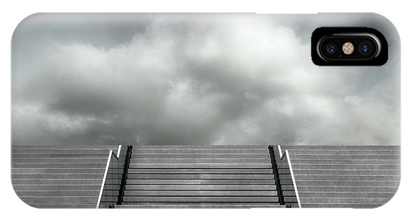 Hotel iPhone Case - Stair by Gilbert Claes