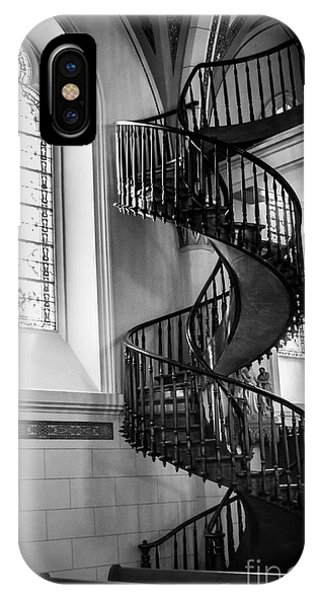 Staircase Black And White IPhone Case