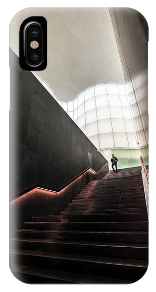 Staircase iPhone Case - Staircase From Future by Marco Tagliarino