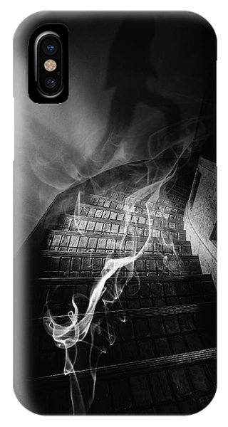 Staircase iPhone Case - Stairs To The Other World by Takashi Suzuki
