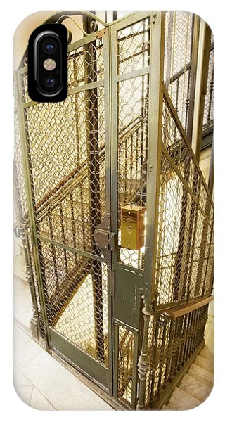 Stairway And Traditional Lift In Apartment Phone Case by Ton Kinsbergen/science Photo Library