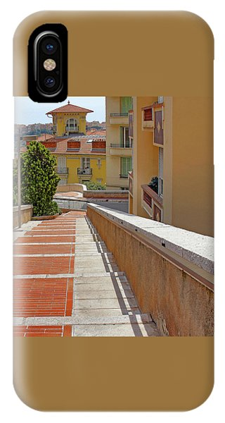 Stairway In Monaco French Riviera IPhone Case