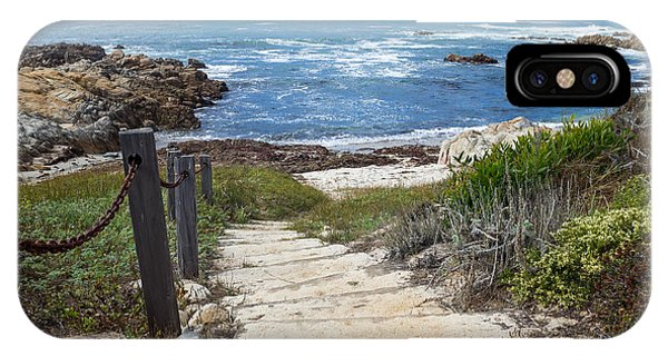 Stairway To Asilomar State Beach IPhone Case