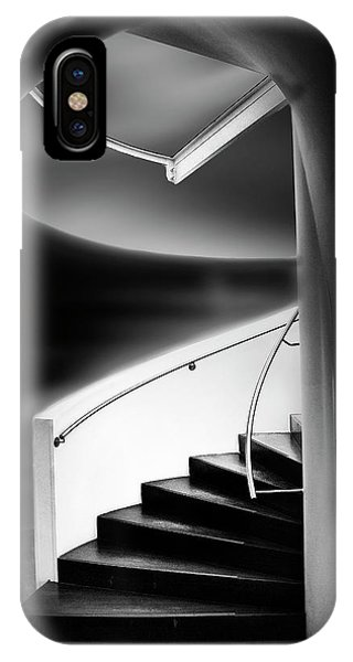 Staircase iPhone Case - Stairwell by Marc Apers