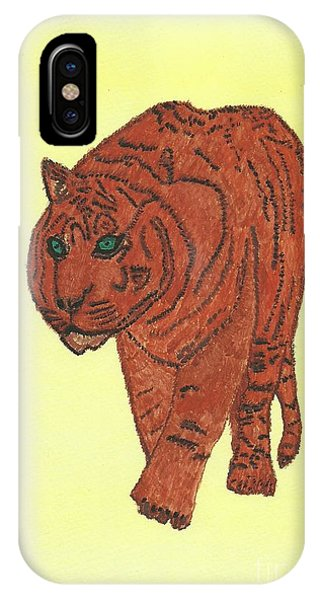 Stalking Tiger IPhone Case
