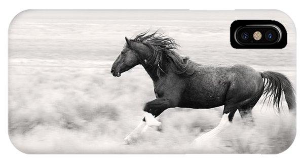 Stallion Blur IPhone Case