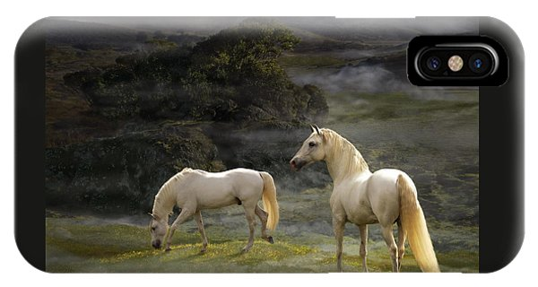 Stallions Of The Gods IPhone Case