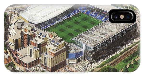 Stamford iPhone Case - Stamford Bridge - Chelsea by Kevin Fletcher