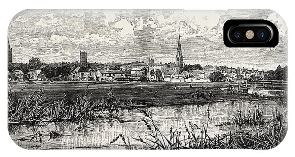 Stamford iPhone Case - Stamford Is A Town And Civil Parish On The River Welland by English School