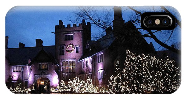 Stan Hywet Hall And Gardens Christmas  IPhone Case