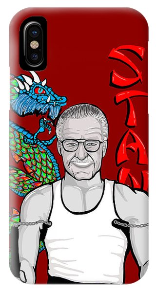 Stan Lee Phone Case by Gary Niles