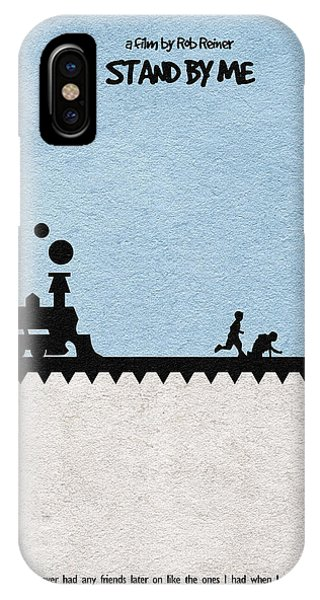 Train iPhone X Case - Stand By Me by Inspirowl Design