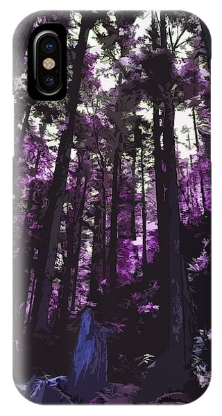 Stand Of Trees IPhone Case
