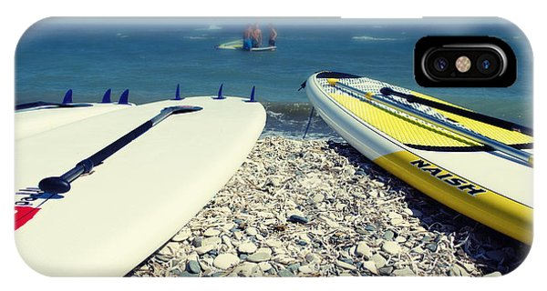 Surf iPhone Case - Stand Up Paddle Boards by Stelios Kleanthous