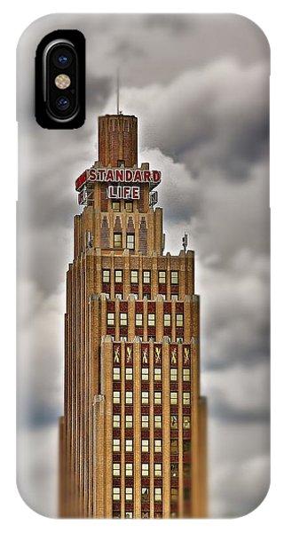 Standard Life Building 2 IPhone Case