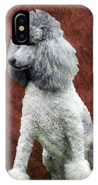 Standard Poodle IPhone Case