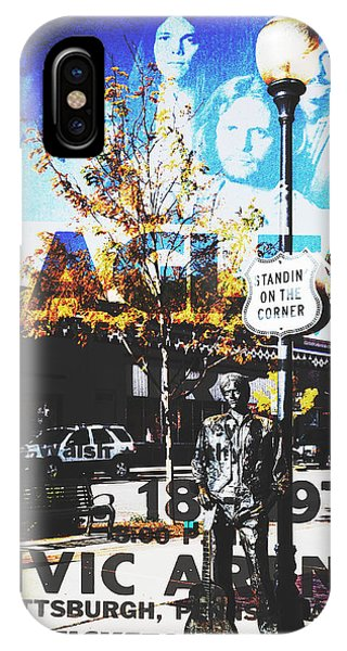 Standin On The Corner IPhone Case