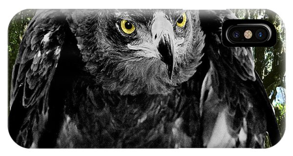 Standing Eagle Phone Case by Fred Leavitt