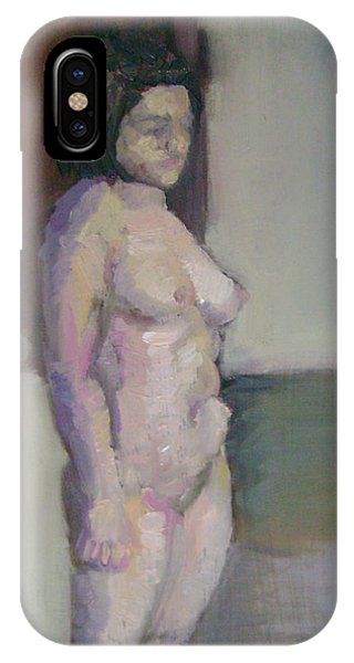 Standing Figure Phone Case by Cynthia Harvey