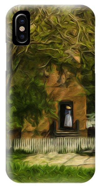 Standing In The Doorway IPhone Case