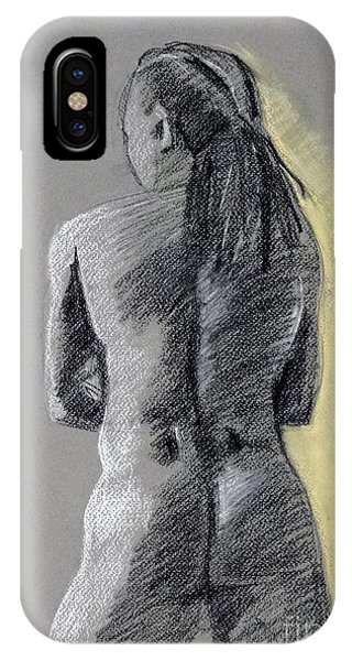 Standing Male Back IPhone Case