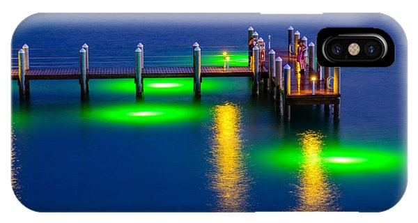Standing On The Dock Of The Bay IPhone Case