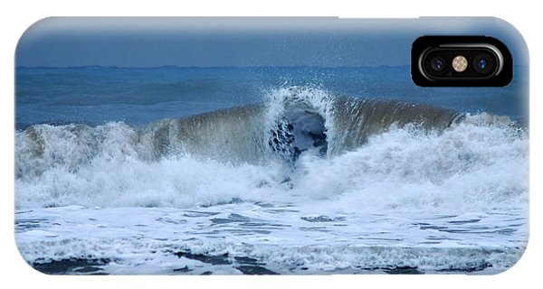 Dancing Of The Waves IPhone Case