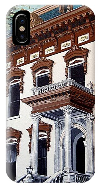 Stanford Mansion Phone Case by Paul Guyer