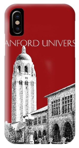 Stanford iPhone Case - Stanford University - Dark Red by DB Artist