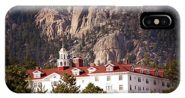 Stanley Hotel Estes Park IPhone Case