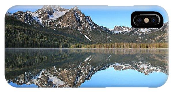 Stanley Lake Sawtooth Mountains IPhone Case