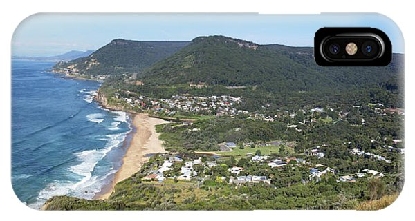 Stanwell Park Panorama IPhone Case