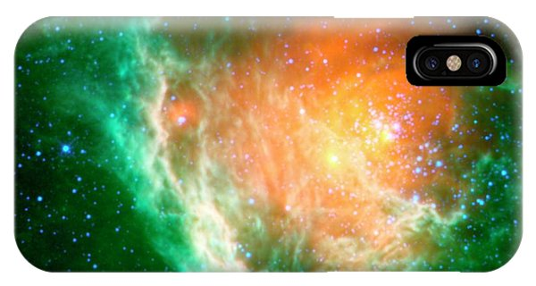 Infrared Radiation iPhone Case - Star-birth Region by Nasa/jpl-caltech/ucla/science Photo Library