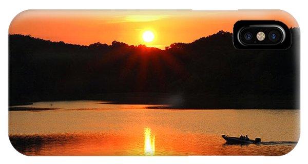 Star Burst Sunset IPhone Case