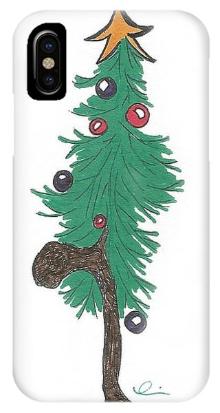 Star Christmas Tree IPhone Case