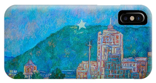 IPhone Case featuring the painting Star City by Kendall Kessler