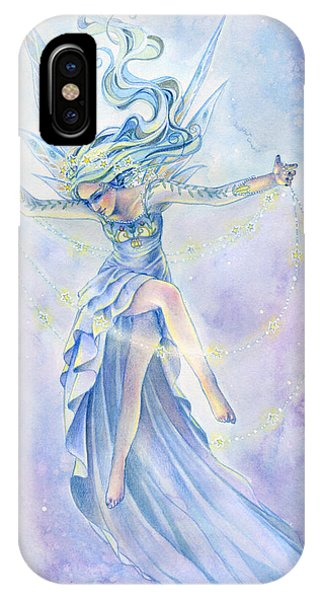 Fantasy iPhone X Case - Star Dancer by Sara Burrier