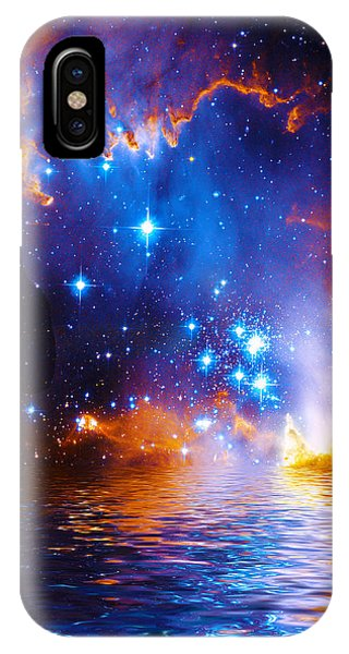 Stars As Diamonds IPhone Case