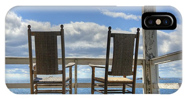 Star Island Rocking Chairs IPhone Case